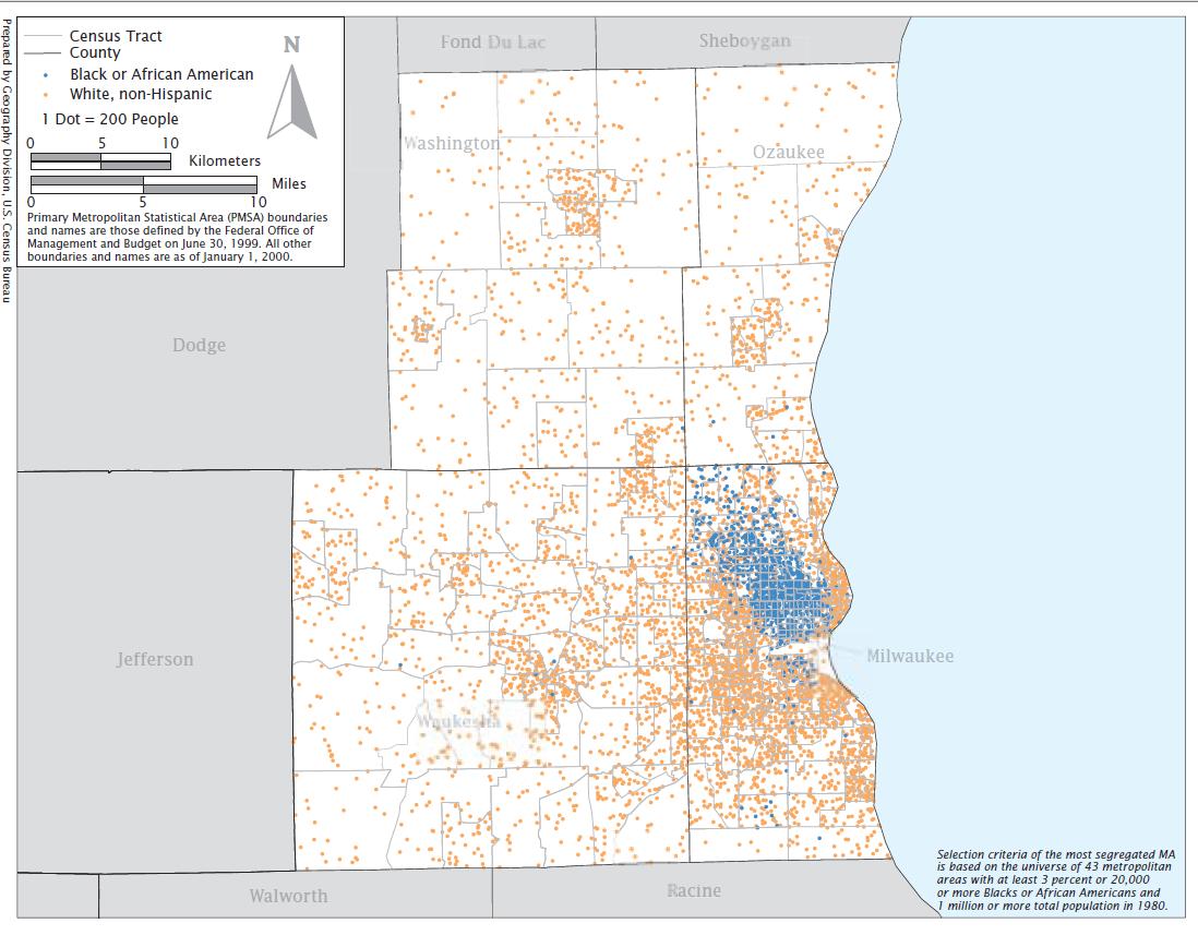 Race Matters In Milwaukee How Segregated Is Milwaukee