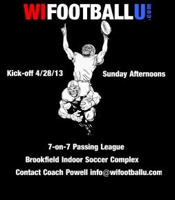 WIFOOTBALLU Kickoff Facebook Flyer
