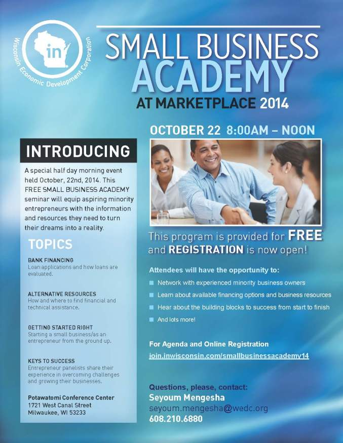 Small Business Academy 8 5x11