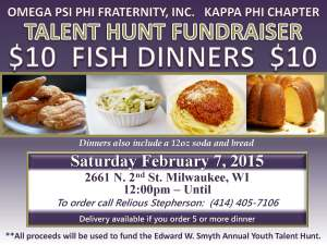Kappa Phi Talent Hunt Fundraiser - Fish Fry