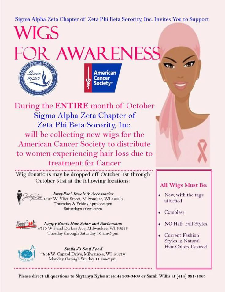 Wigs for Awareness