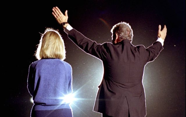 Hillary and Bill Clinton in 1992. (Reuters Pictures)